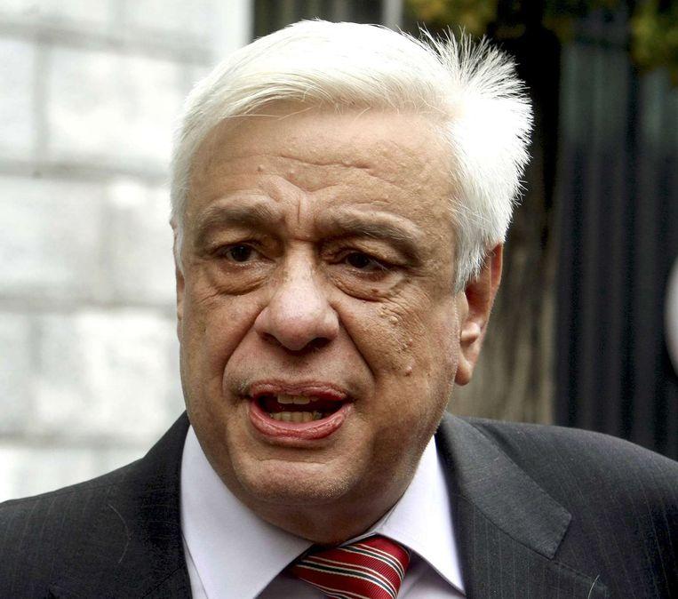 Prokopis Pavlopoulos was Grieks minister van Binnenlandse Zaken van 2004 tot 2009. Beeld REUTERS