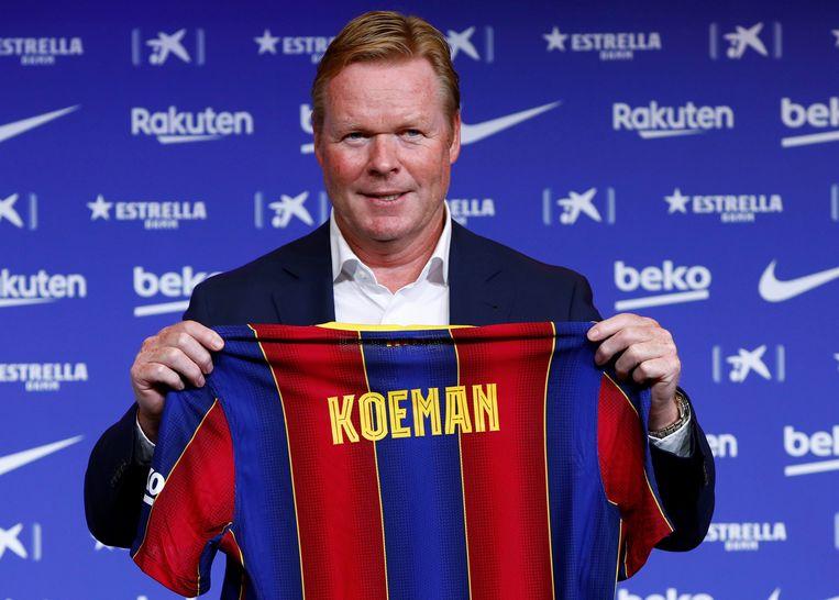 Ondanks maanden vol onrust is Ronald Koeman gelukkig als trainer van Barcelona: 'Ik heb voor hetere vuren gestaan' - Volkskrant