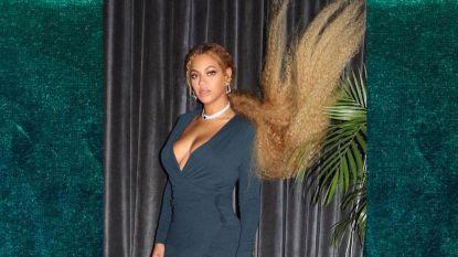 Beyoncé deelt foto's van feestlook op huwelijk Serena Williams