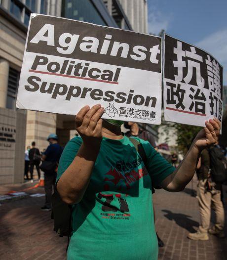Hongkongse rechtbank veroordeelt zeven prominente activisten