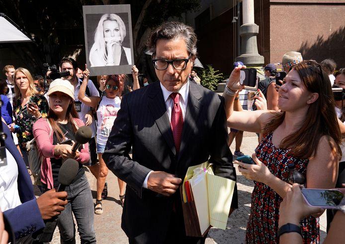 Britney Spears' nieuwe advocaat, Matthew Rosengart.