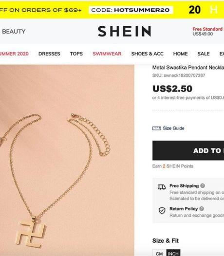 Cet e-shop scandalise après la vente d'un collier en forme de croix gammée