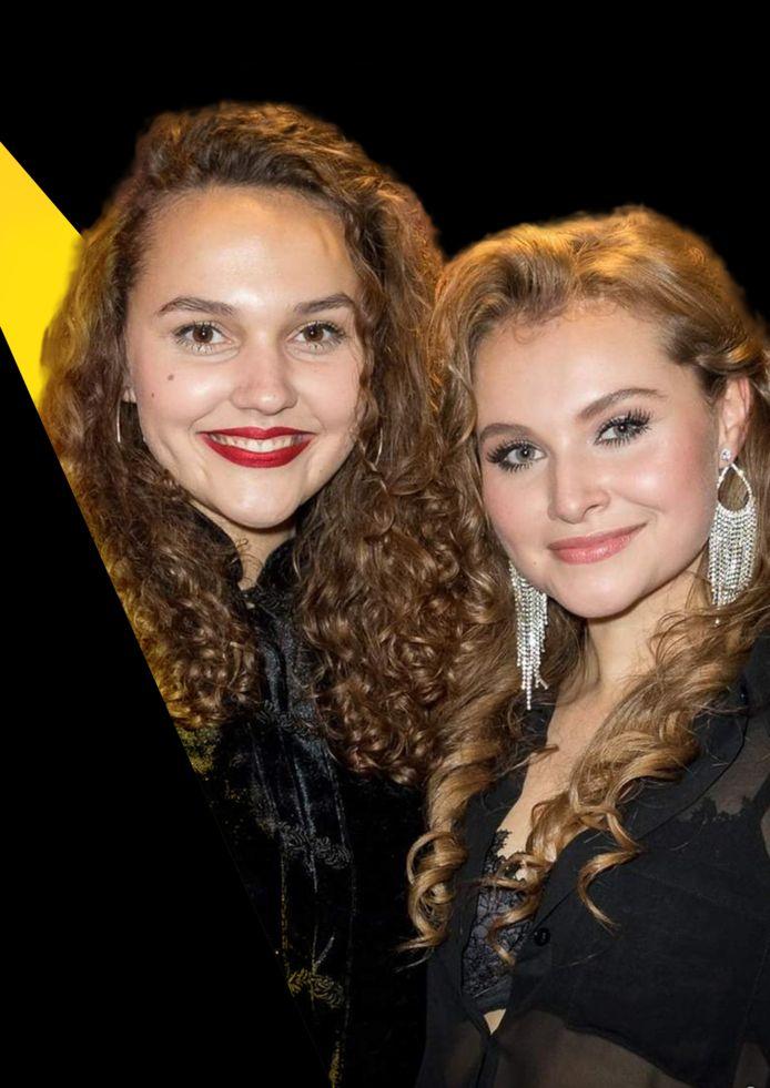 Venna (links) en Vajèn van den Bosch