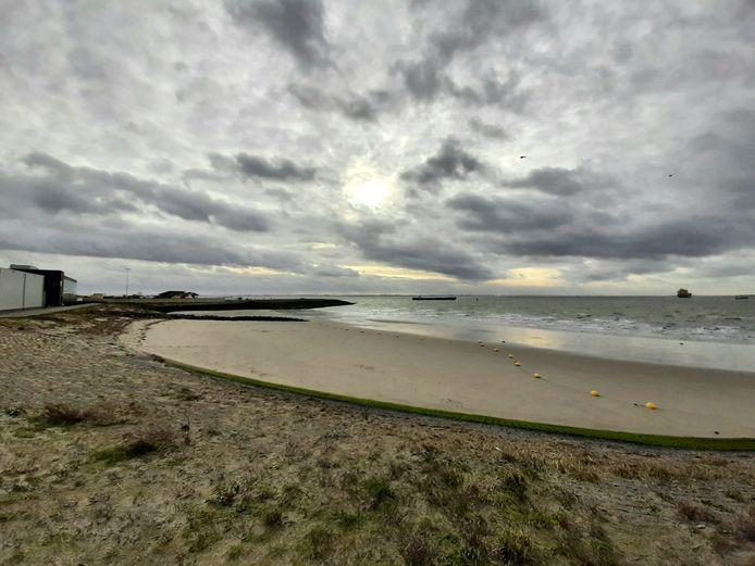 Het strandje van Hansweert, aan de Westerschelde