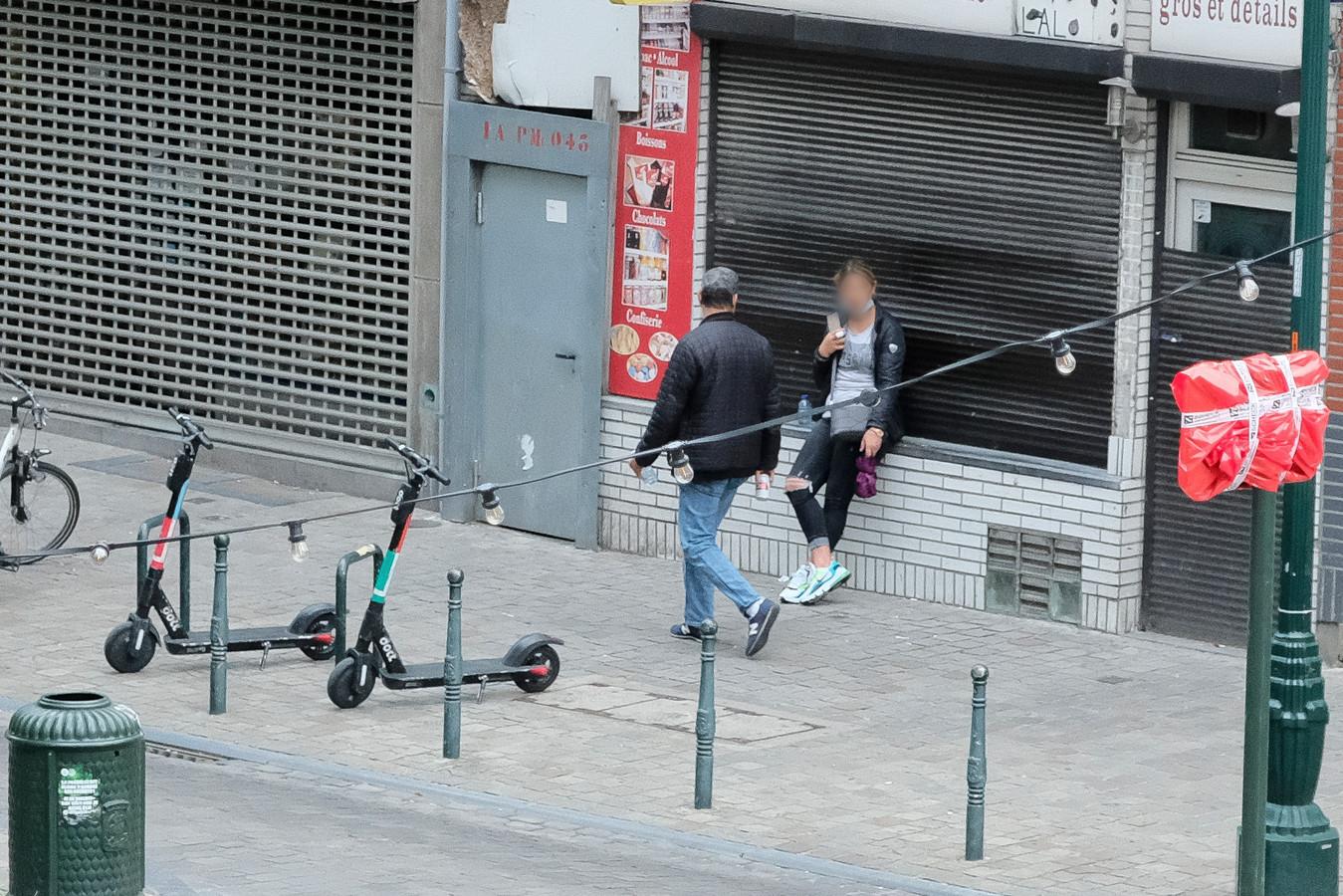 (Archiefbeeld) Prostitutie in de Alhambrawijk.