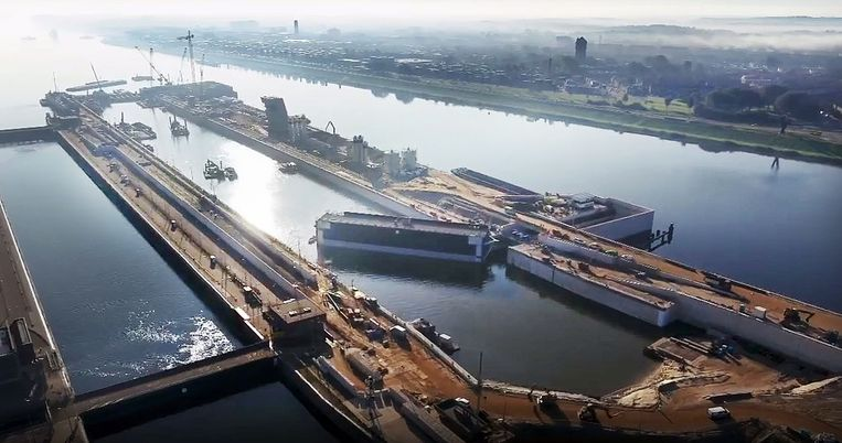 null Beeld Port of Amsterdam