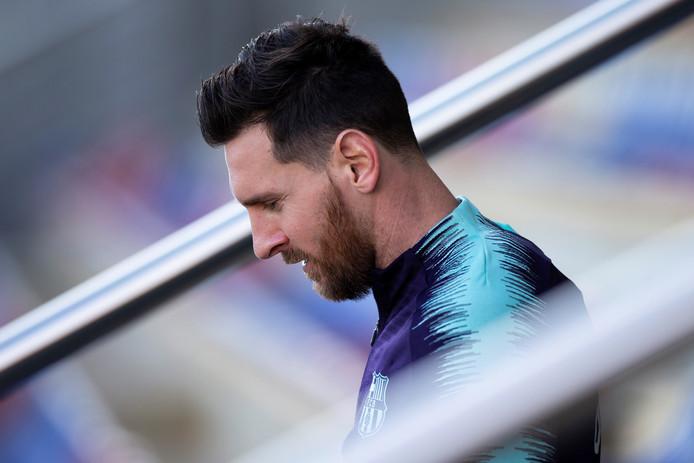 Lionel Messi is terug.