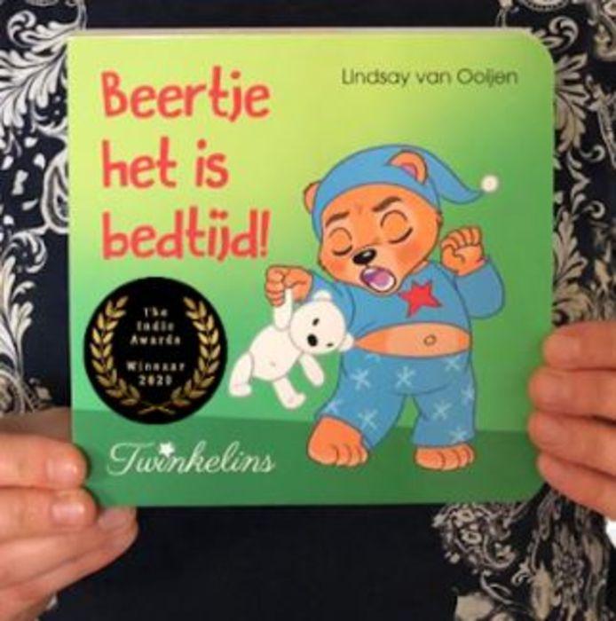 Het publiek van The Indie Awards heeft 'Beertje het is bedtijd!' uitgeroepen tot leukste kinderboek van 2020.