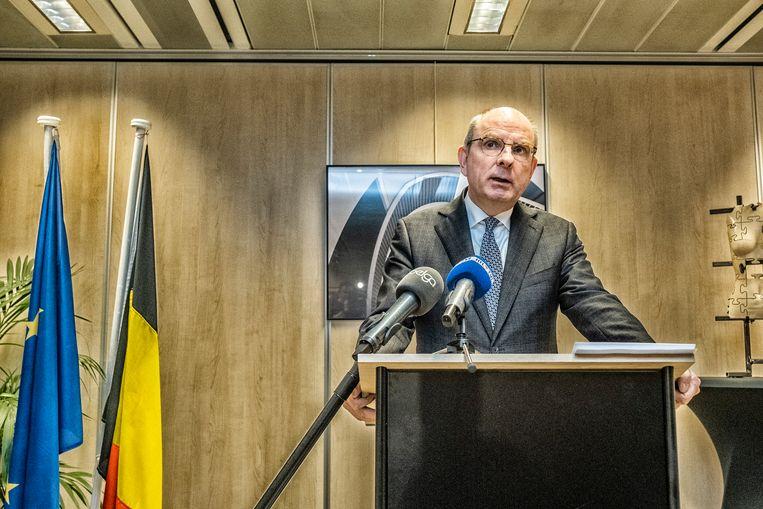 Minister van Justitie Koen Geens. Beeld Tim Dirven
