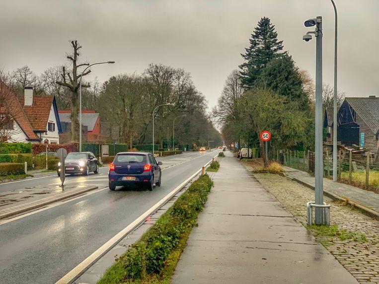 Brugge trajectcontrole Torhoutse Steenweg
