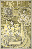 Litho van Jan Toorop uit 1894, in opdracht van Delftsche Slaolie.