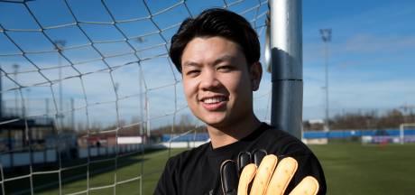 Nieuwe Sportlust'46-keeper Ho-Chun Ko in beeld bij nationaal elftal Hongkong: 'Wil mijn vader trots maken'