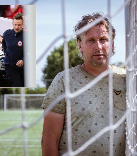 Ook voetballer Freddy (53) uit Ommen viel zomaar neer tijdens een wedstrijd: 'Ik had niet één, maar twee engeltjes op mijn schouder'