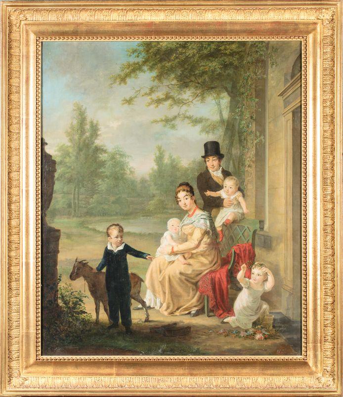 Het schilderij van Adriaan de Lelie