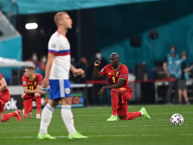 """Waarom knielende voetballers méér zijn dan enkel een racisme-aanklacht: """"De UEFA weet dat jongeren daar erg mee bezig zijn en wil hen niet voor het hoofd stoten. Dat zijn de supporters van de toekomst, hé"""""""