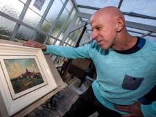 Staat op dit schilderij nu toren van Noordwijk of van Ter Heijde?'Al die tijd naar verkeerde kerk gekeken!'