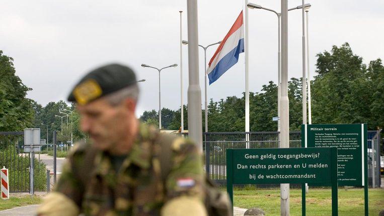 Het uniformverbod werd in 2014 ingesteld toen een Nederlandse jihadist vanuit Syrië opriep om een daad te stellen tegen de overheid Beeld anp