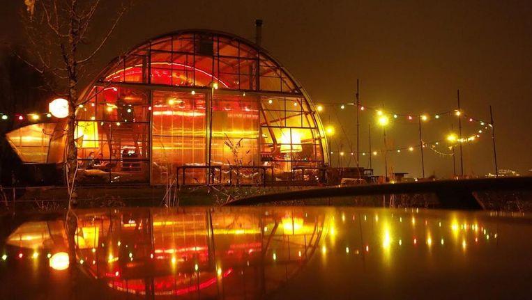 Festival Loose Ends vindt plaats op het terrein bij café Noorderlicht. Beeld Noorderlicht
