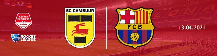 Cambuur Leeuwarden neemt het op 13 april op tegen het esports-team van FC Barcelona