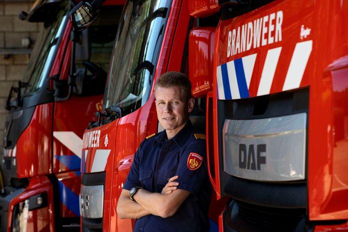 Kevin Wolters, hoofd incidentbestrijding van de Veiligheidsregio Brabant-Zuidoost.