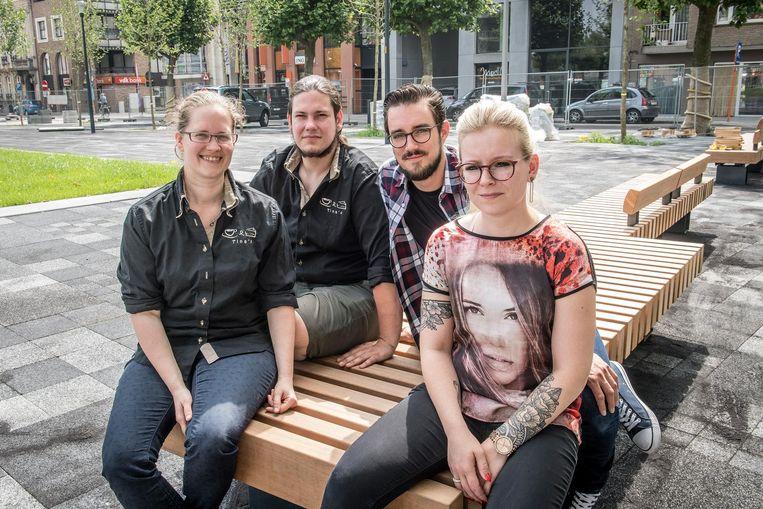 Leen Vandenbossche & Aaron Callens van Tina's bundelen de krachten met Bert Coopman & Deborah Naert van merl'O.