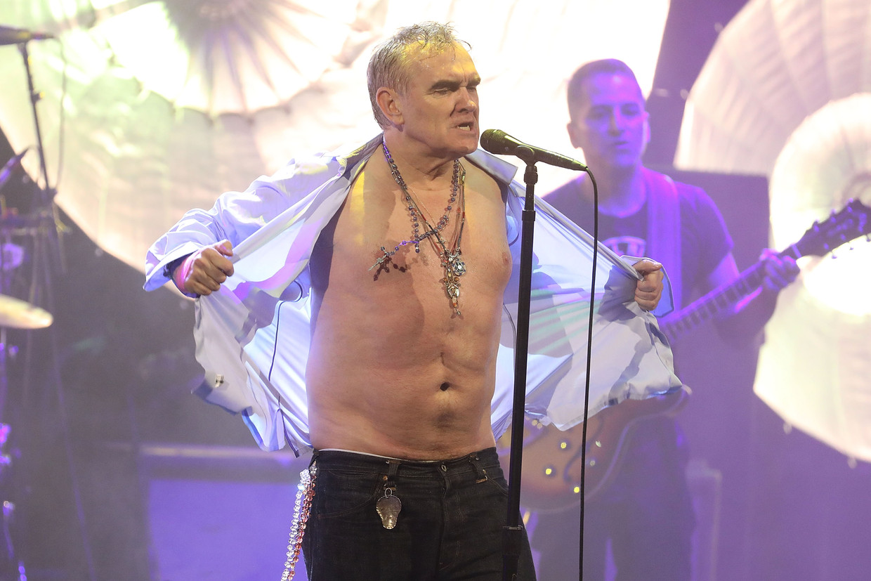Morrissey Beeld Getty Images