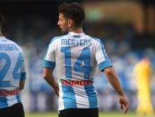 Inquiétude pour Dries Mertens sorti sur blessure lors de la victoire de Naples à La Spezia