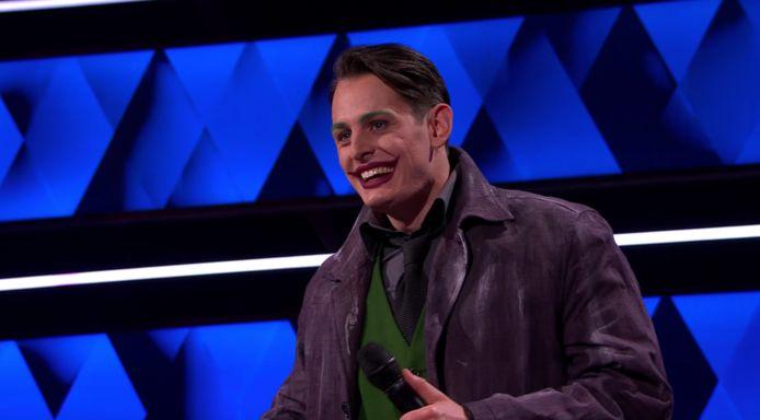 The Joker (Maurits) hield het panel goed voor de gek.