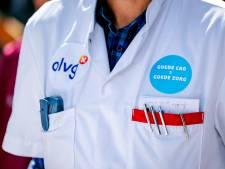 Werknemers OLVG voeren actie voor betere cao