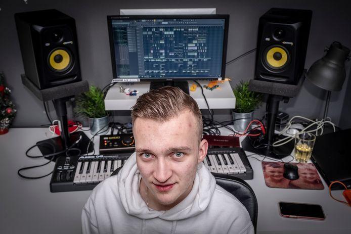 Robin van Rijsbergen, alias DJ Ephoric.