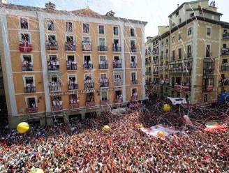 Tienduizenden naar Pamplona voor stierenrace