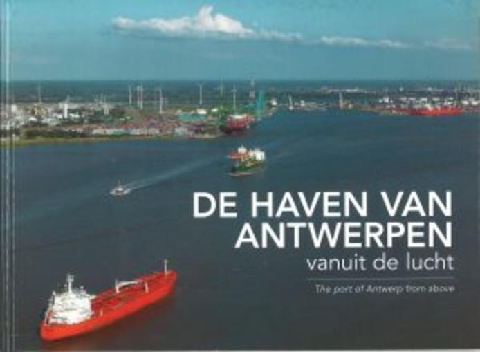De haven van Antwerpen vanuit de lucht.