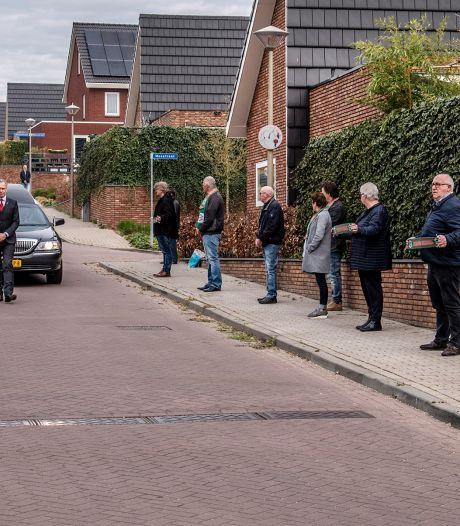 Erehaag voor overleden Broer d'n Boes in Groesbeek: 'Het was indrukwekkend'
