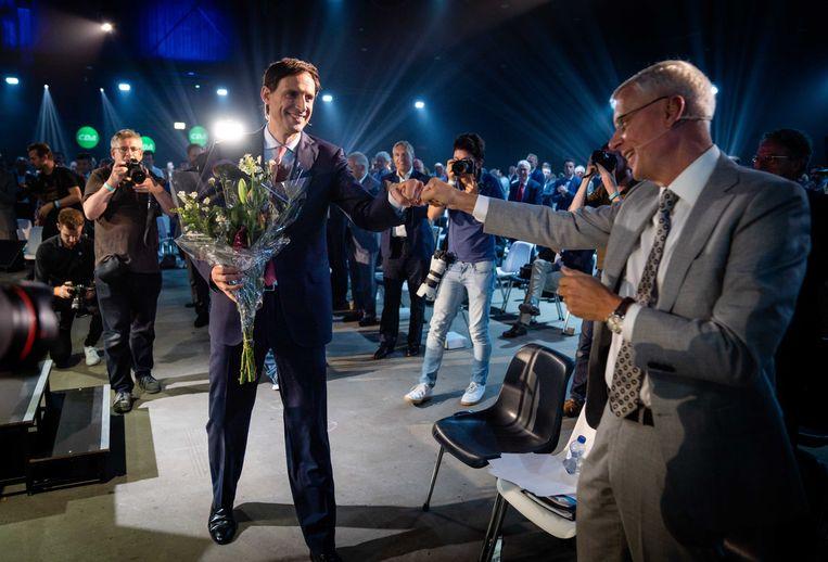 CDA-leider Wopke Hoekstra op het partijcongres. Beeld ANP