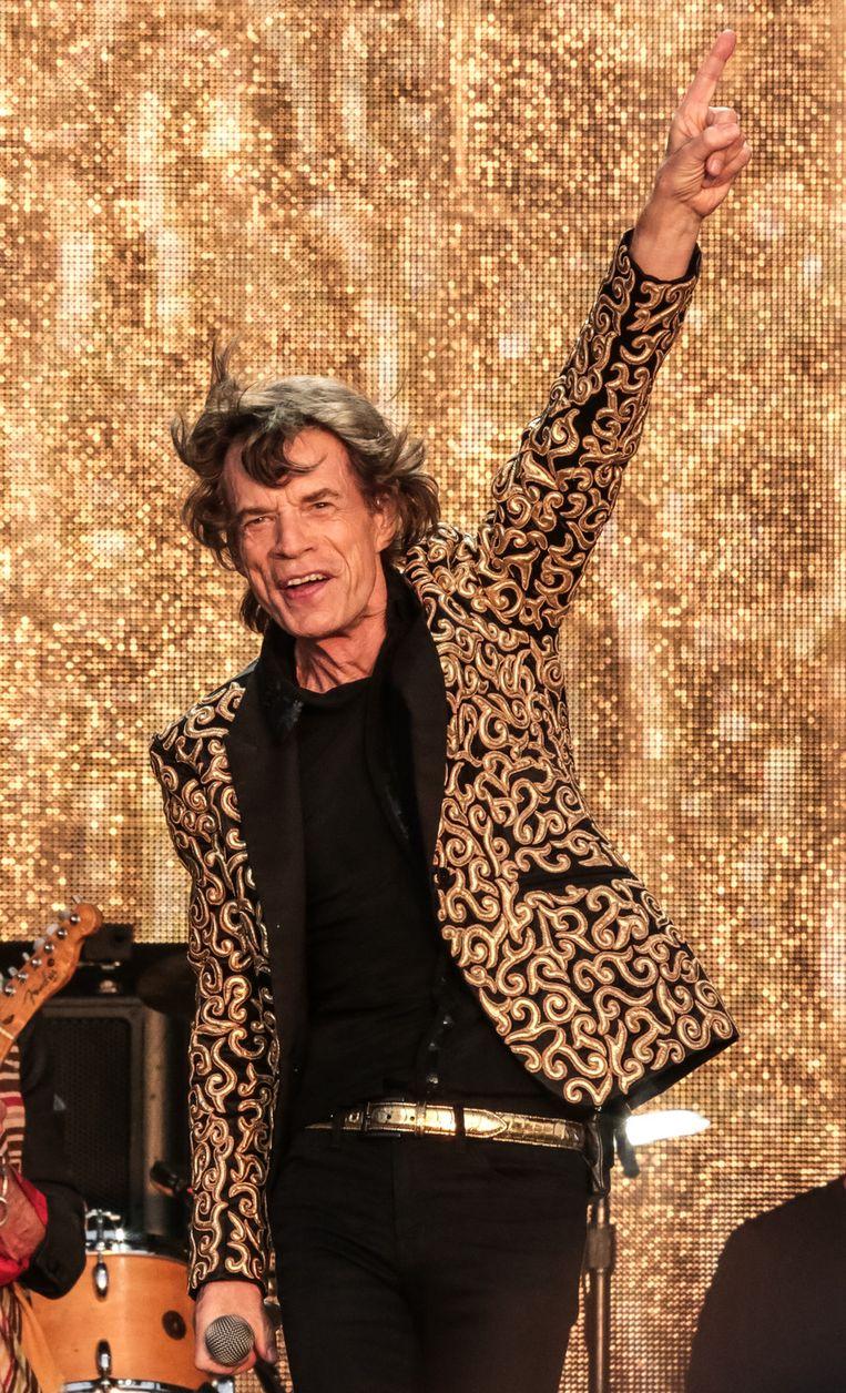 Mick Jagger. Beeld getty