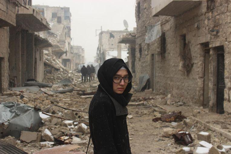 Lina in Aleppo, 36 uur voor vertrek Beeld
