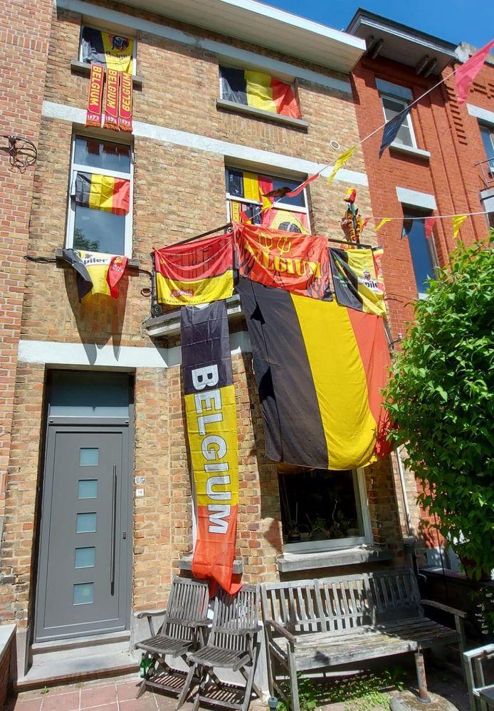 Het versierde huis, in de Graaf de Smet de Naeyerlaan