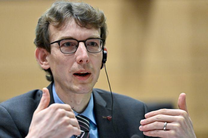 Roel Van Giel, de voorzitter van de Vlaamse huisartsenvereniging Domus Medica