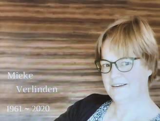 """Afscheid van vermoorde zorgjuf: """"Mieke, we waren gelukkig met de kleine dingen. Bedankt voor alles"""""""