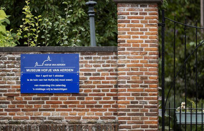 Het hofje en de museumtuin zijn momenteel gesloten voor bezoekers.