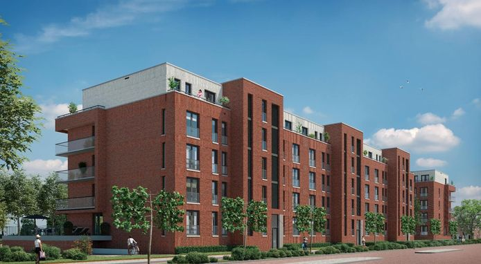Impressie van de nieuwe appartementen in Waalwijk
