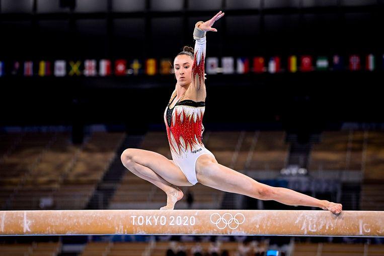Derwael Nina (Bel) Gymnastique : Concours Multiple - Femmes - Jeux Olympiques - Tokyo - 29/07/2021 © PanoramiC ! only BELGIUM ! Beeld Photo News