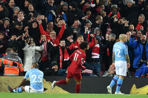 Salah met de 2-0.