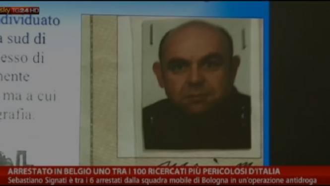 Un dangereux mafieux arrêté en Belgique