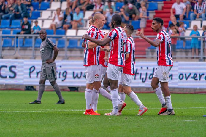 27-07-2019: Voetbal: Willem ll v OFI Kreta: Tilburg Vreugde bij Willem II door de 1-1 van Karim Coulibaly