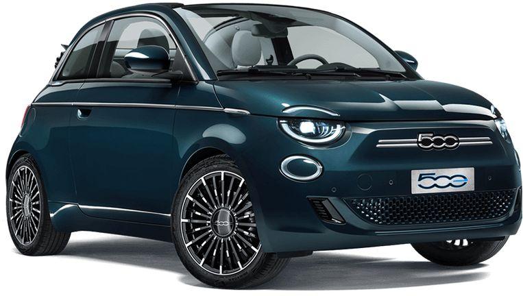 Fiat 500e, versie La Prima. Beeld