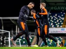 Oranje zonder Memphis tegen Noord-Ierland