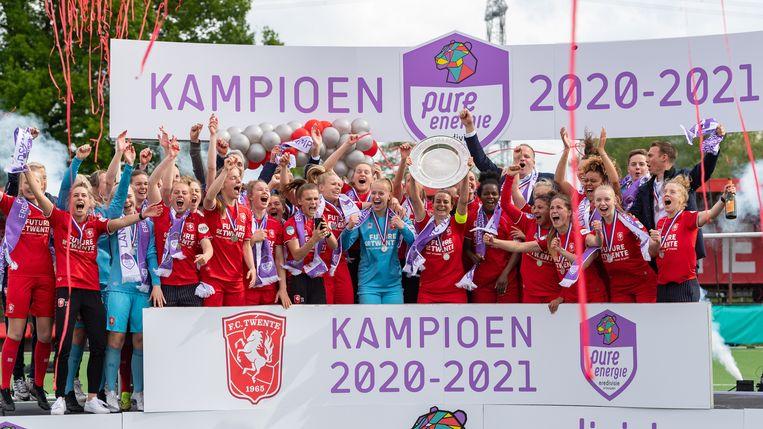 FC Twente is kampioen van Nederland Beeld Pro Shots / Ron Jonker