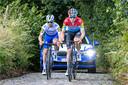 Julian Alaphilippe (links) en Luxemburgs kampioen Bob Jungels zullen in de Ardennen de exponenten worden van Deceuninck-Quick-Step, aldus Dirk De Wolf.