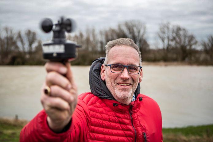 Weerman Mark Wolvenne: 'Er komt sneeuw misschien, maar pas in het weekeinde na kerst'.